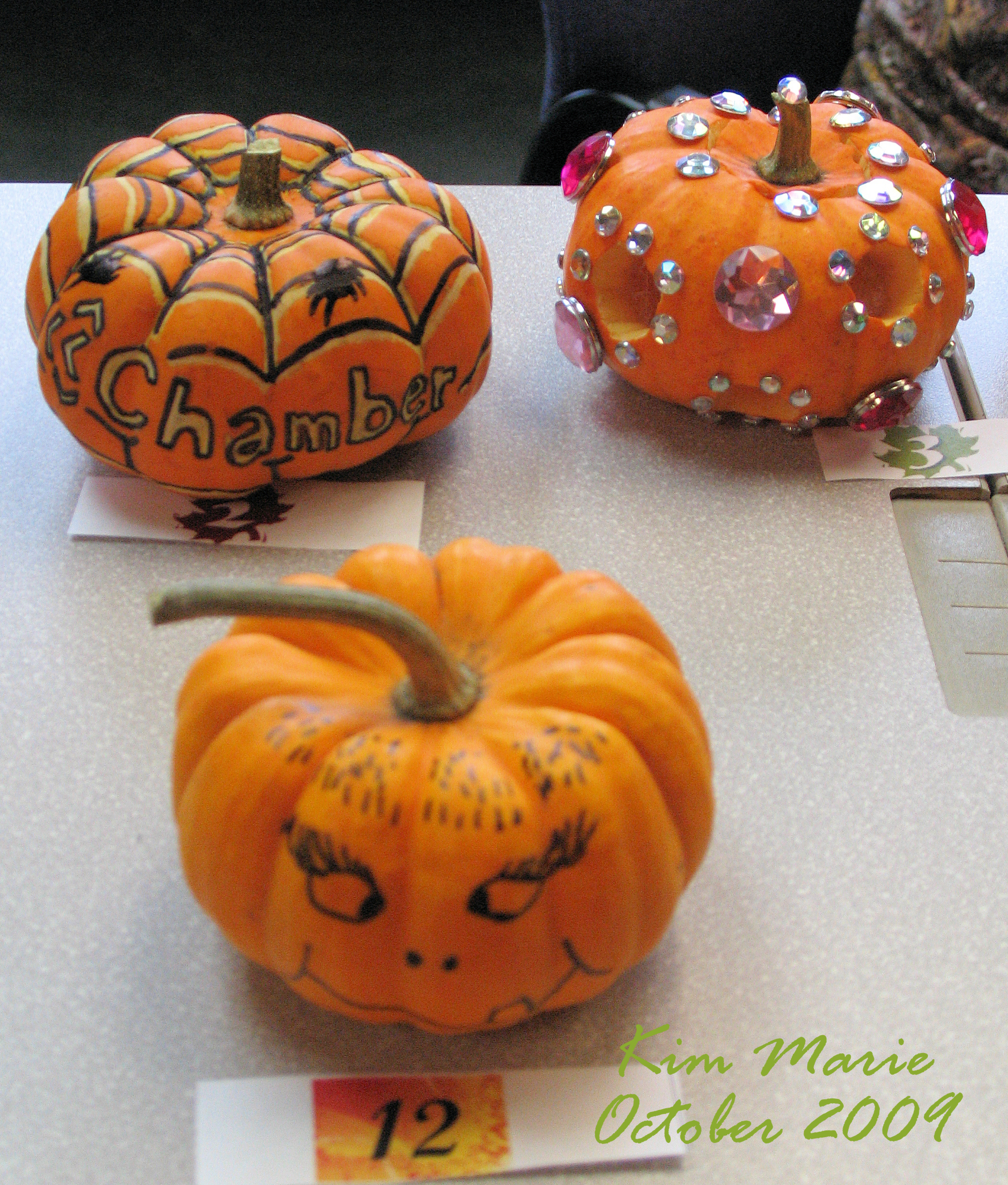 How To Decorate A Mini Pumpkin