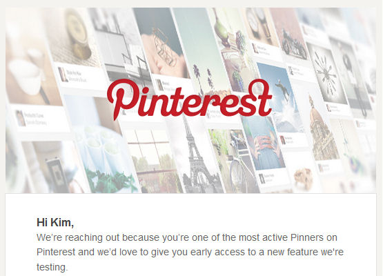 Pinterest says that I am an active user.